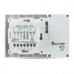 FRONTIER TL-286-P терморегулятор с выключателем